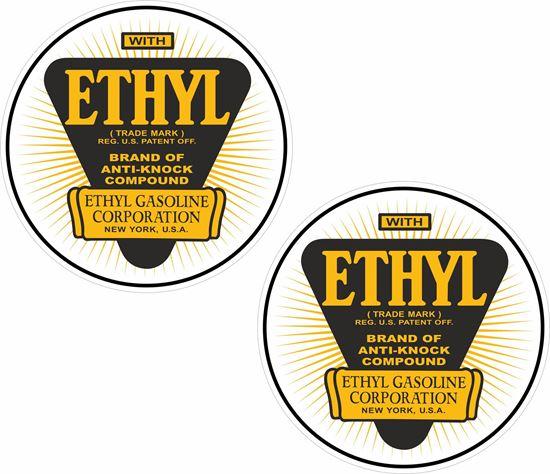 Picture of Ethyl Gasoline Decals / Sticker