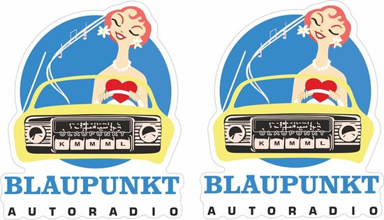 Picture of Blaupunkt Decals / Stickers