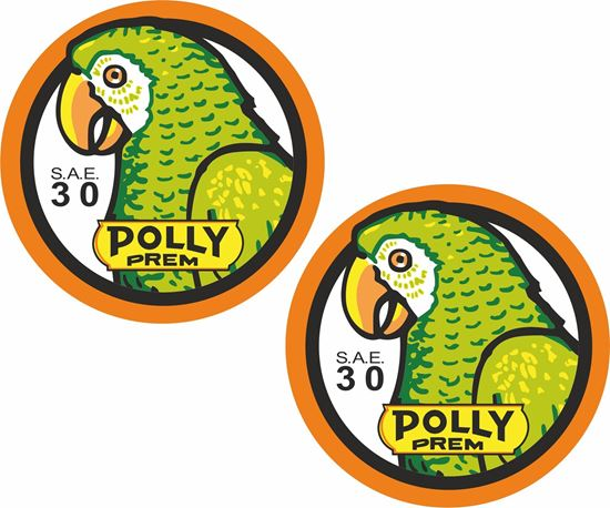 Picture of Polly Premium Decals / Stickers