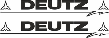 Picture of Deutz Decals  / Stickers