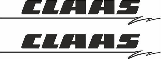 Picture of Claas Decals  / Stickers