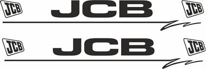 Picture of JCB Decals  / Stickers