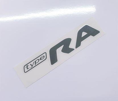 "Picture of Impreza STi ""Type RA"" rear Decal / Sticker Grey"