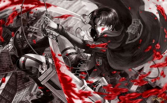 Picture of Attack on Titan Vinyl Wrap Sheet