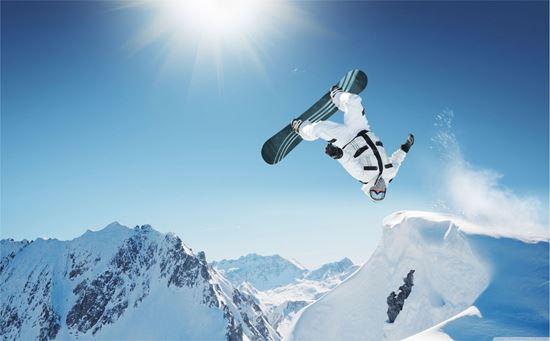 Picture of Snowboarding Vinyl Wrap Sheet
