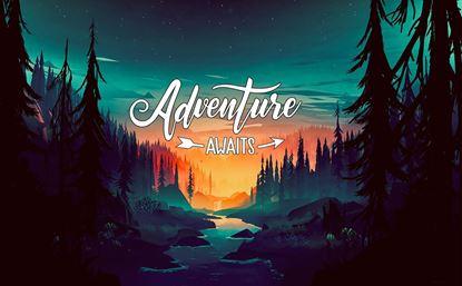 Picture of Adventure Awaits Vinyl Wrap Sheet