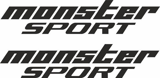 Picture of Monster Sport Decals / Stickers