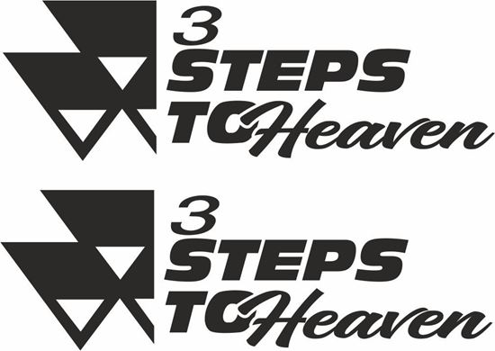 Picture of Massey Ferguson 3 Steps to Heaven Decals  / Stickers