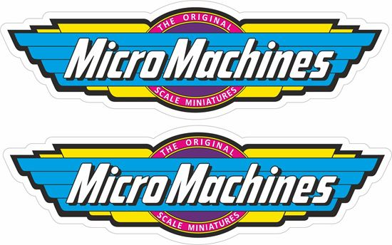 Picture of Micro Machines Decals / Stickers