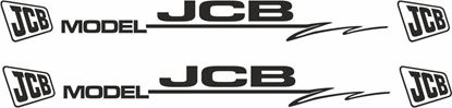 Picture of JCB Model Decals  / Stickers