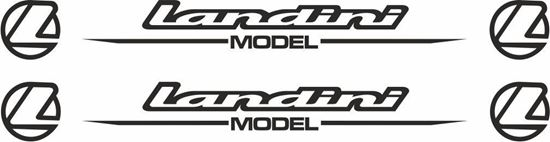 Picture of Landini Model Decals  / Stickers
