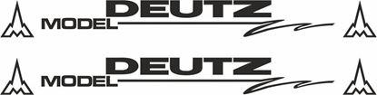 Picture of Deutz Model Decals  / Stickers