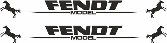 Picture of Fendt Model Decals  / Stickers