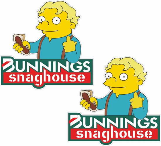 Picture of Bunnings snaghouse  Decals / Stickers