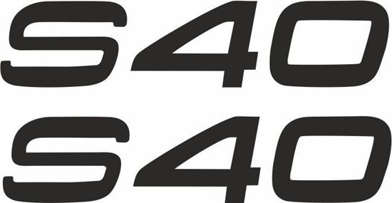 Picture of S40 Decals / Stickers