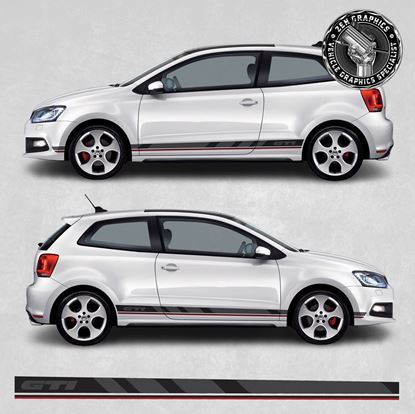 Picture of Polo GTI MK5 side Stripes / Stickers