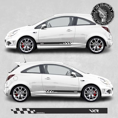 Picture of Corsa VXR side Stripes / Stickers