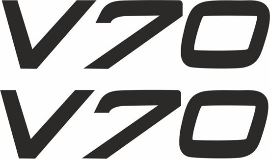 Picture of V70 Decals / Stickers