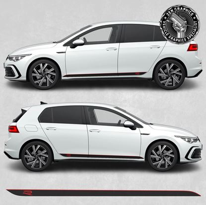 Picture of Golf R MK8 side Stripes / Stickers