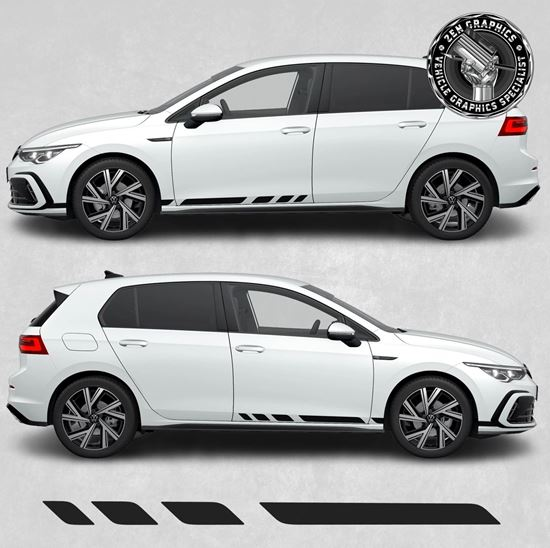 Picture of Golf MK8 side Stripes / Stickers