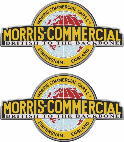 Picture of Morris Commercial Decals / Stickers