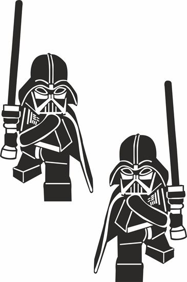 Picture of Darth Vader Decals / Stickers