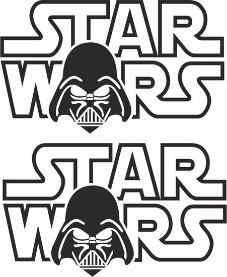 Picture of Star Wars Decals / Stickers