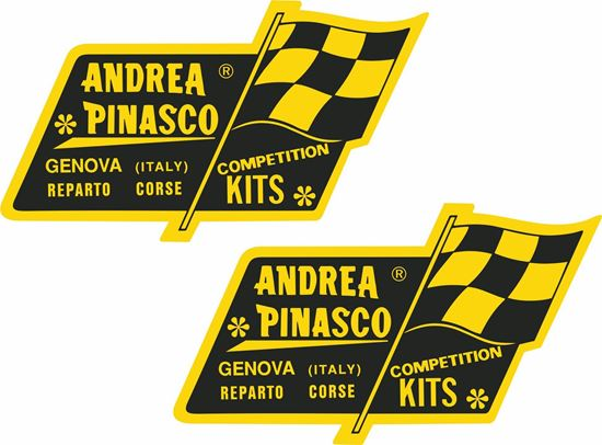 Picture of Andrea Pinasco Decals / Stickers