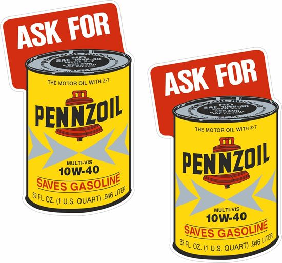 Picture of Pennzoil Decals / Stickers