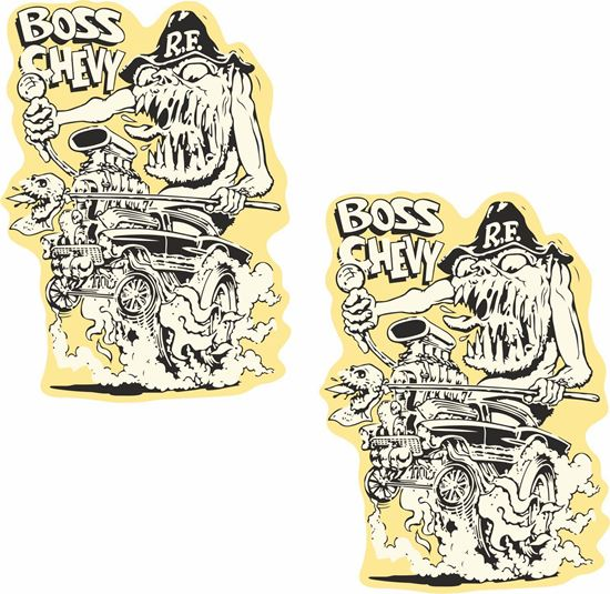 Picture of Boss Chevy Decals / Stickers