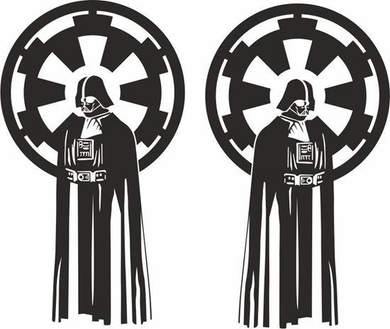 Picture of Star Wars Darth Vader Decals / Stickers