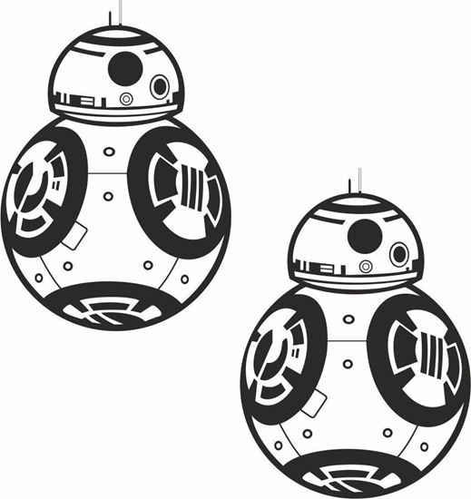 Picture of Sphero BB-8 Droid Decals / Stickers