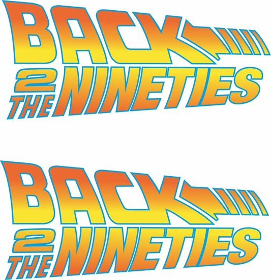 Picture of Back to the Nineties Decals / Stickers