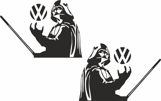 Picture of Darf Vader Decals / Stickers