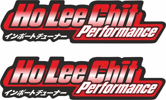 Picture of Ho Lee Chit Performance Decals / Stickers