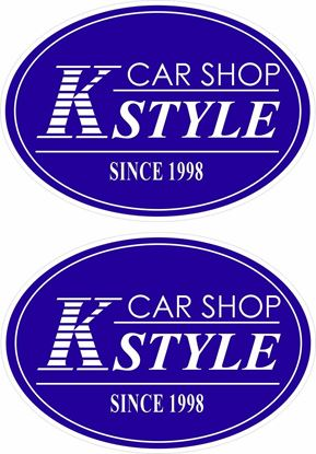 Picture of Car Shop K Style Decals / Stickers