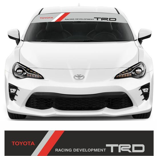 Picture of Toyota TRD Sunstrip FITS ALL