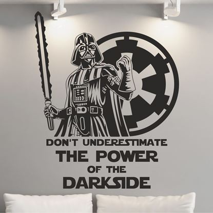 Picture of Star Wars Storm Darth Vader Wall Art sticker