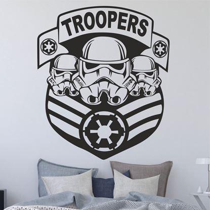 Picture of Star Wars Storm Trooper  Wall Art sticker