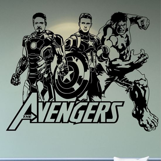Picture of The Avengers Wall Art sticker