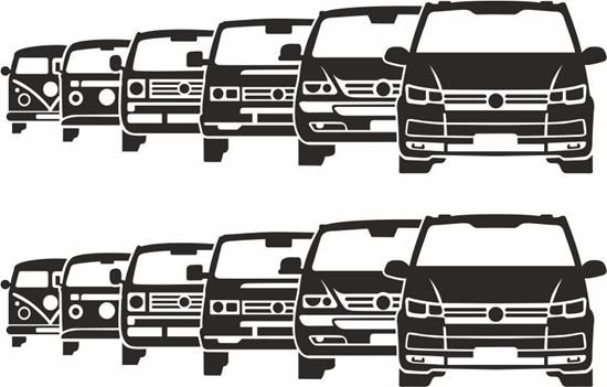 Picture of Transporter Evolution Decals / Stickers