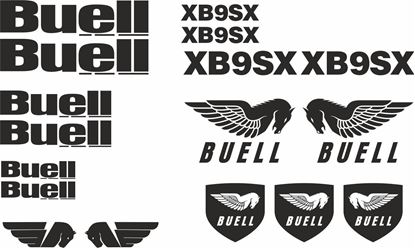 Picture of Buell XB9SX Decal / Sticker kit