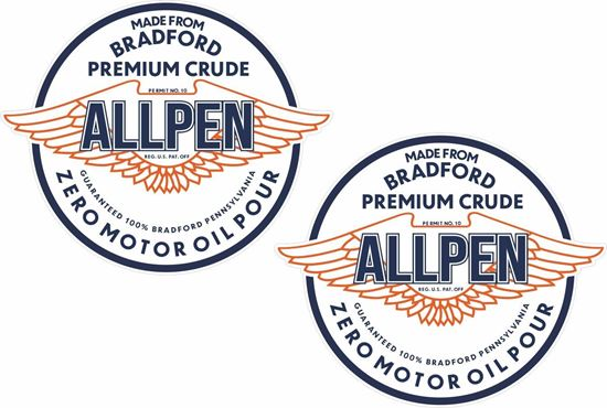 Picture of Allpen Oil Decals / Stickers
