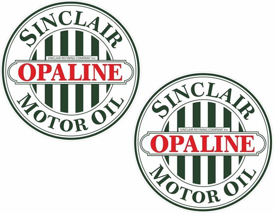 Picture of Sinclair Opaline Decals / Stickers