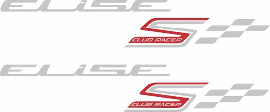 Picture of Lotus Elise S Club Racer Decals / Stickers