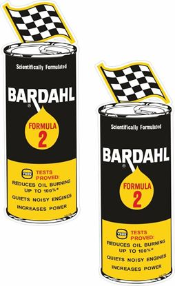 Picture of Bardahl Formula 2 Decals / Stickers