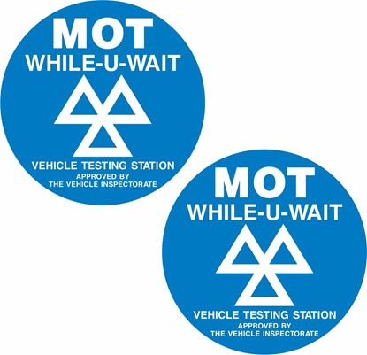 Picture of MOT / Vehicle Testing Station Decals / Stickers