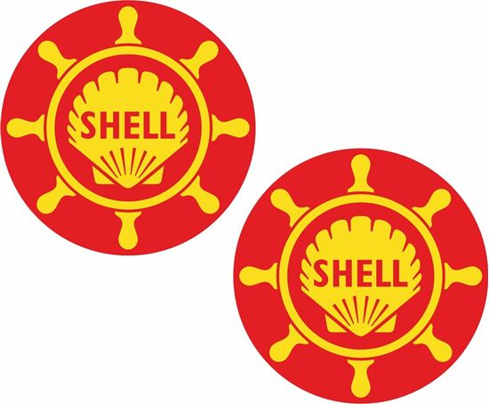 Picture of Shell Marine Decals / Sticker