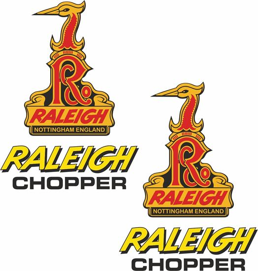 Picture of Raleigh Chopper Decals / Stickers