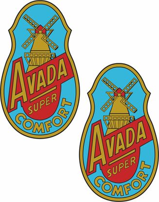 Picture of Avada Super Comfort Decals / Stickers